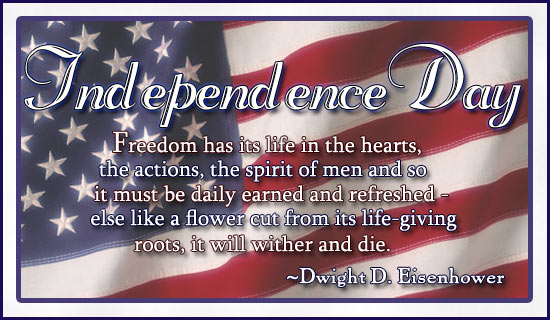 happy 4th ecard